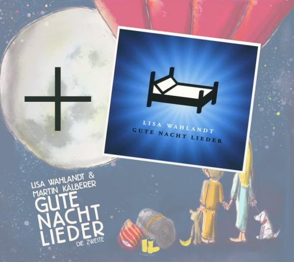 DOPPELPACK Gute Nacht Lieder 1&2