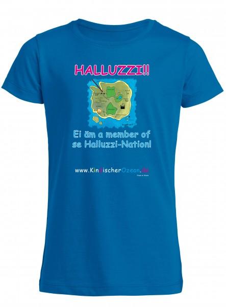 Blaues Jungen T-Shirt aus Bio-Baumwolle