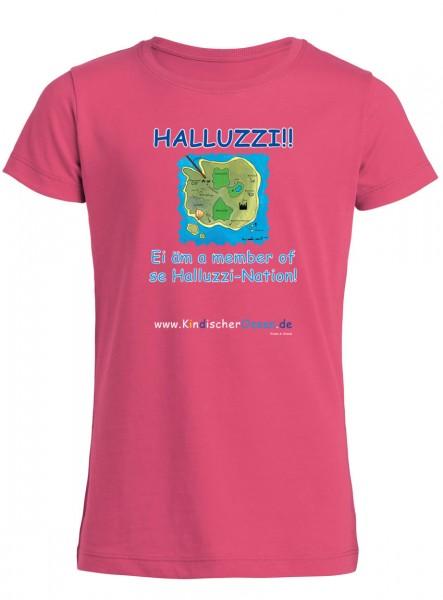 Rosa Mädchen T-Shirt aus Bio-Baumwolle