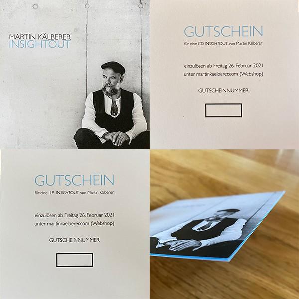 Gutschein INSIGHTOUT (Doppel-CD)